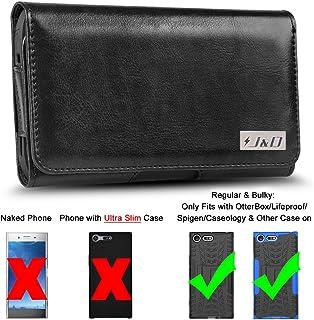 جراب J&D متوافق مع هاتف Sony Xperia XZ4 Holster / Sony Xperia XZ Premium Holster مع مشبك حزام، جراب جراب من الجلد الصناعي ...
