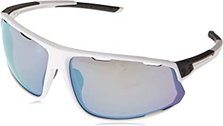 Under Armour Wrap Sunglasses, UA Strive Satin White/Carbon/Baseball, l