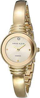 Anne Klein Gold-Tone Ladies Watch AK-2558CHGB
