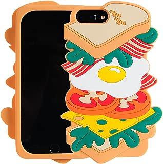iPhone 7 Plus Case, iPhone 8 Plus Case, Phenix-Color 3D Cute Cartoon Soft Silicone Hello Kitty Gel Back Cover Case for iPhone 7 Plus/iPhone 8 Plus 5.5 Inch (#11)