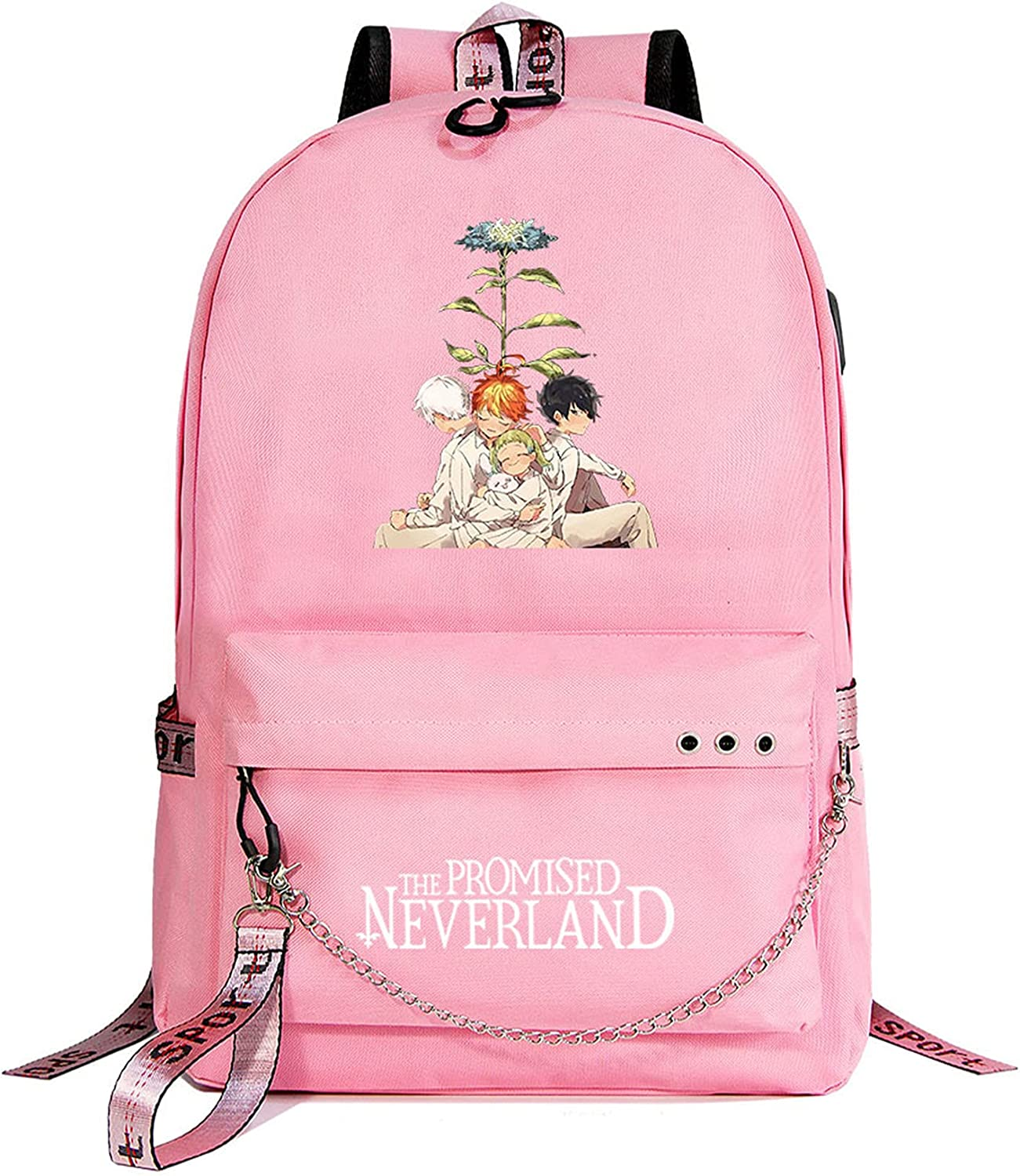 Col-92 Kids Students The Promised Tra Graphic Bag Beauty products Neverland Book Sale item
