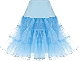 1950s Women Vintage Rockabilly Petticoat Skirt Tutu Underskirt