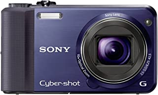Sony Cyber-Shot DSC-HX7V 16.2 MP Exmor R CMOS Digital Still Camera with 10x Wide-Angle Optical Zoom G Lens, 3D Sweep Panorama, and Full 1080/60i HD Video (Blue)