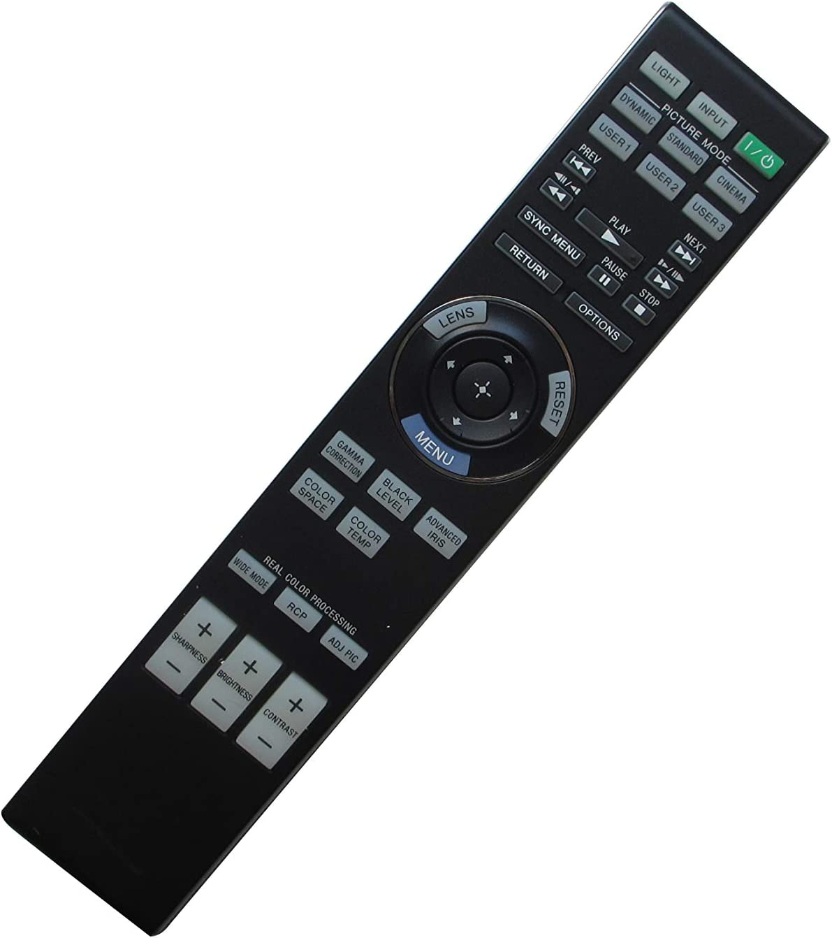 Universal Replacement Remote Control for Sony VPL-AW15 VPL-AW10 VPL-VW95EW SXRD 3LCD Projector