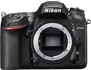 Nikon D7200 Body Only - 24.2 MP, DSLR Camera, Black