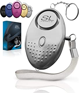 Personal Alarm Siren Song - 130dB Safesound Personal Alarm Keychain with LED Light, Emergency Self Defense for Women, Kids...