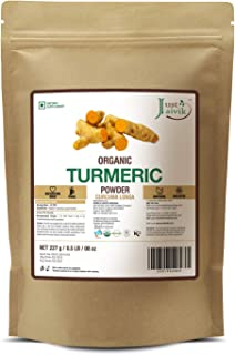 Just Jaivik 100% Usda Organic Turmeric Powder (Curcuma Longa) - Certified Organic By Onecert Asia Under Nop- 227 Gms / 1/2...