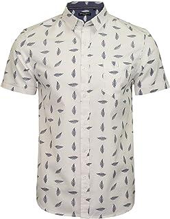 BRAVE SOUL Men's 'Barb' Print Shirt