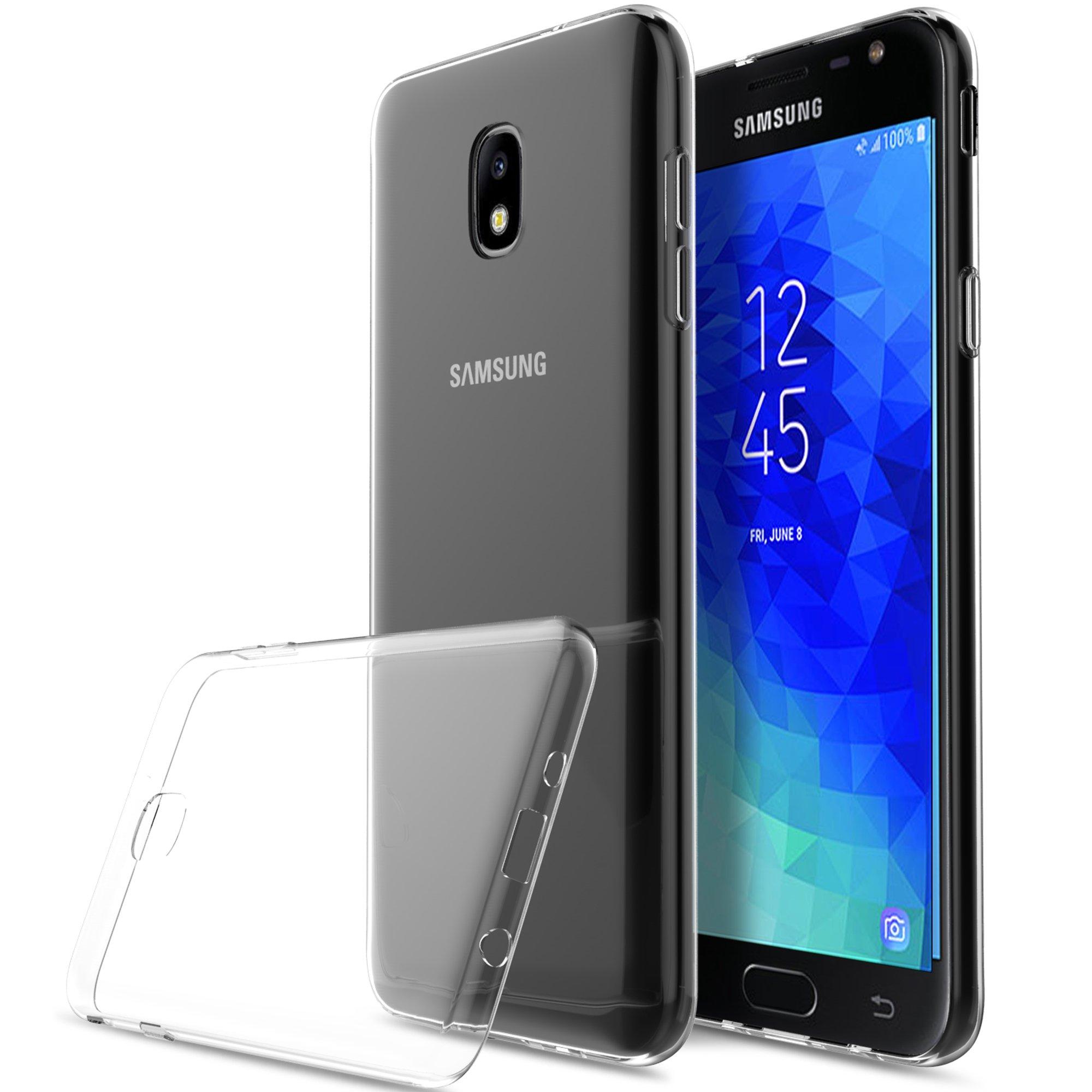 KuGi Funda Samsung Galaxy J3 2018,J3 Achieve TPU Transparente Slim ...