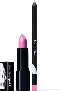 FIND - Celestial Pink (Barra de labios brillante n.6 + Perfilador de labios n.11)
