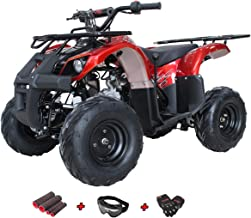 X-Pro 125cc Zongshen Brand Engine ATV Quad Youth 4 Wheeler ATVs Kid Size ATV 4 Wheelers 125cc Big Boys ATVs Quads with Gloves, Goggle and Handgrip