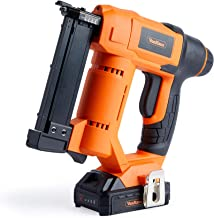 VonHaus 18V Li-Ion Cordless 23 Gauge Pin Nailer – Cordless Battery Operated –..