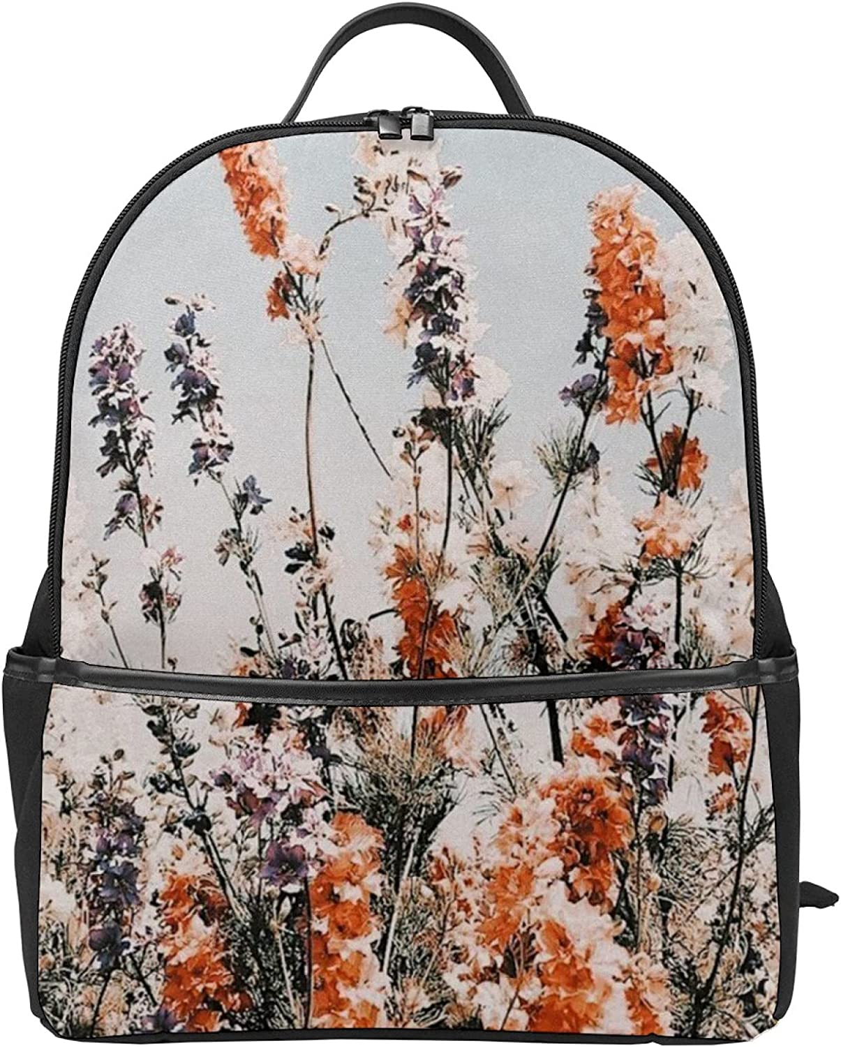Super Max 56% OFF special price Aesthetic Flowers3D printing backpack Ba Canvas cartoon