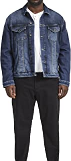 Jack & Jones Classic Vintage  Denim Jacket Big and Tall King size Blue