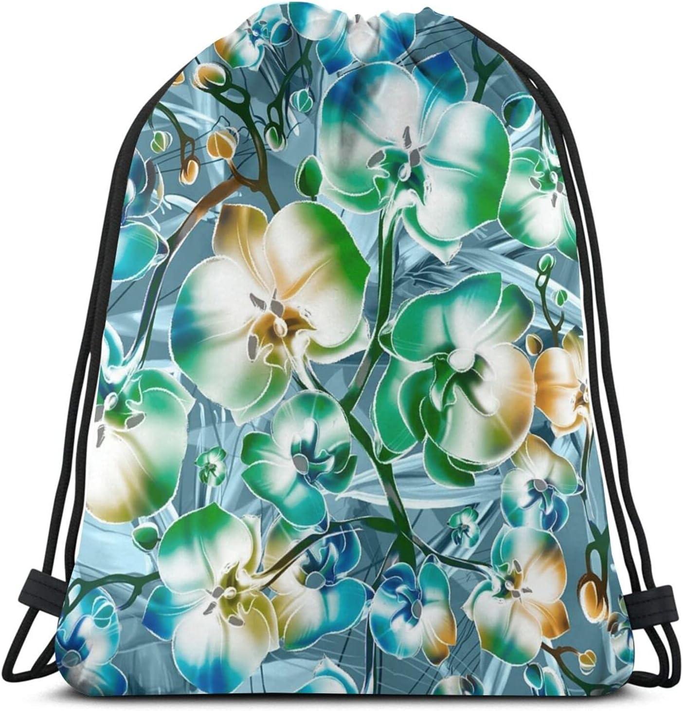 Orchid Vintage Elegance Drawstring Backpack String Translated Ranking TOP20 Sackpack Bag