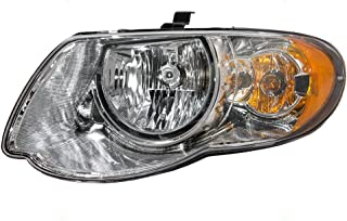 Halogen Headlight Headlamp Driver Replacement for 05-07 Chrysler Town & Country Van with 119