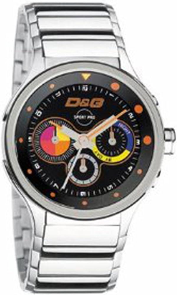 Dolce & gabbana,orologio,cronografo  da uomo, in acciaio inossidabile DW0209