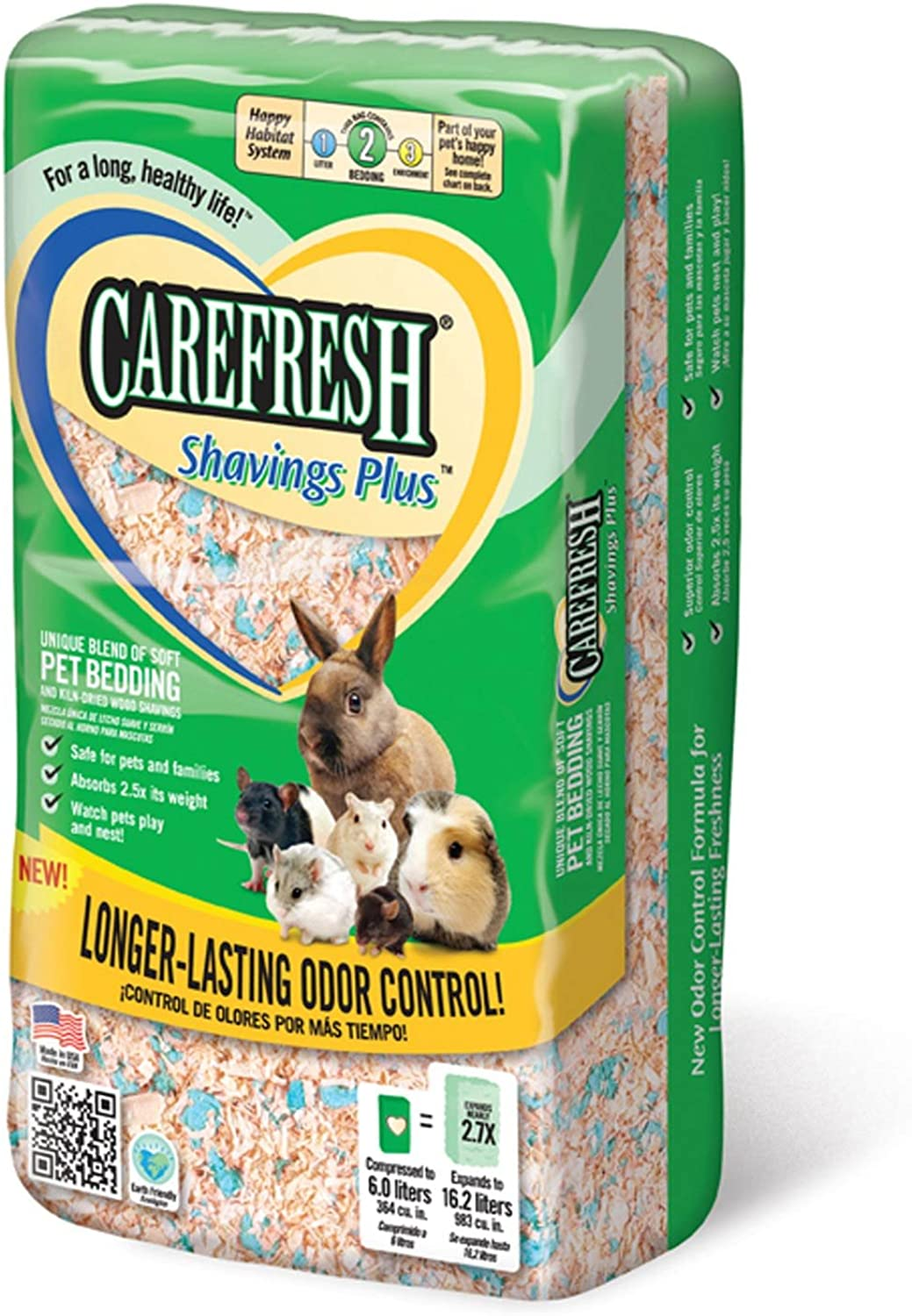 Carefresh Shavings Plus 14ltr 6ct Case