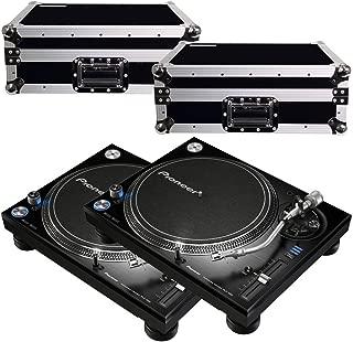 Pioneer PLX1000 Turntables w/ Road Cases
