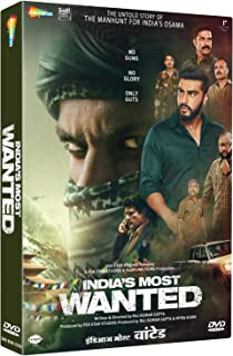 INDIAS MOST WANTED HINDI DVD ( ALL REGIONS ENGLISH SUBTITLES )