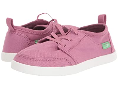 Sanuk Kids Lil Vagabond Lace Sneaker (Toddler/Little Kid) (Heather Rose) Kid