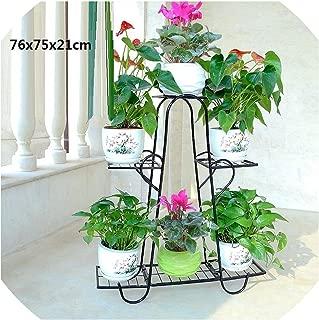 Support Plante Dekoru Decorative Metal Garten Dekoration Balkon Balcon Balcony Shelf Plant Stand Flower Iron Rack,Number 9
