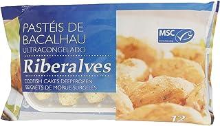 Bacalhau Riberalves Riberalves Pasteis de Bacalhau Codfish Cakes (12 Pieces), 360g - Frozen