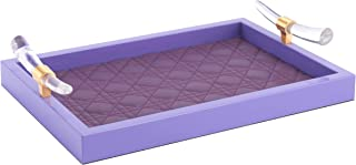 Zuo A11850 Mora Tray Violet, One Size