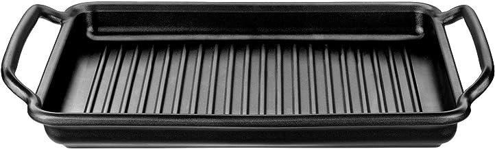 BRA Grillplatte gerillt Solid  Teflon Classic beschichtet 40 x 28 cm