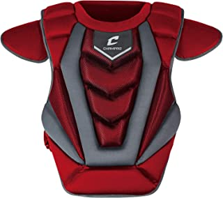 Ages: 8-11 Scarlet Champro Sports CP035 Mid-Size Youth Contour Fit 14 1//2 inch Chest Protector