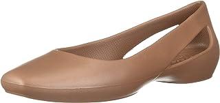 حذاء نسائي مسطح من كروكس | حذاء نسائي | حذاء عمل للنساء مسطح