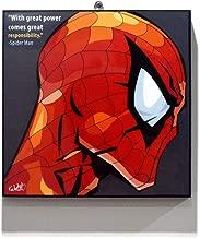 spiderman pop art poster