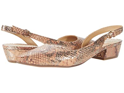 Naturalizer Banks (Tan Metallic Snake) Women