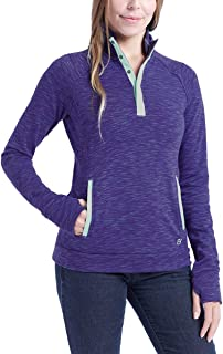 Avalanche Ladies' Snap Neck Pullover