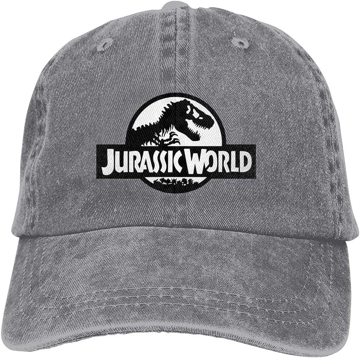 LeoBird Jur_Assic World Logo Unisex Cotton 5% OFF Adju Award Cowboy Caps 100%