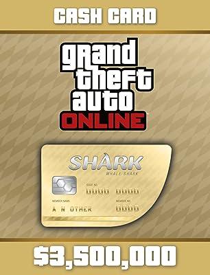 Grand Theft Auto Online   GTA V Whale Shark Cash Card   3,500,000 GTA-Dollars [PC Code]