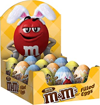12-Count M&M'S Easter Milk Chocolate Candy in Easter Eggs, 0.93-Ounce