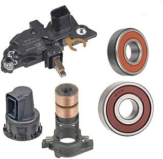 Alternator Rebuild Kit for 2009-2012 Mercedes C300, 2010-2012 Mercedes GLK350 (Bosch Ref# 0124525171) Regulator Brushes Bearings Slipring - 14051RK