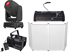 Chauvet DJ Intimidator Spot 475Z 250w Moving Head Light+Controller+Hazer+Facade