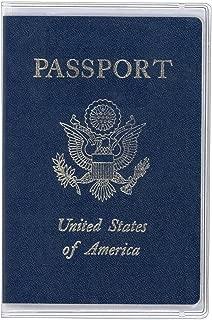 Dust-proof PVC Passport Case/cover(5 Pcs)