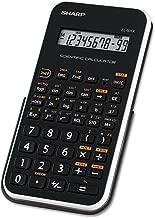 Sharp EL501XBWH EL-501XBWH Scientific Calculator 10-Digit LCD