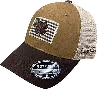 BLACK CLOVER Sepia Nation Brown/Khaki Adjustable Snapback Hat
