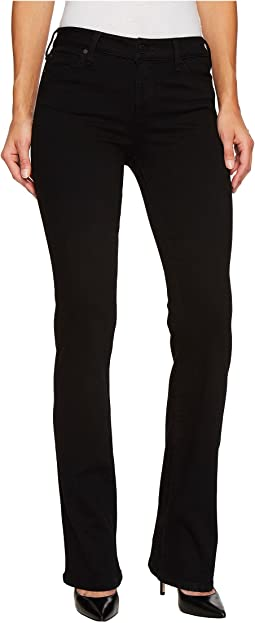 Liverpool - Lucy Bootcut Jeans in the Perfect Black Denim in Black Rinse