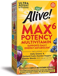 Nature's Way Alive! Max6 Daily (no iron added)