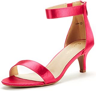 cc23d8851829 DREAM PAIRS Women s Fiona Fashion Stilettos Open Toe Pump Heeled Sandals