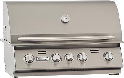 BULLET 86328 4-Burner Built (LP) Grill Head, Liquid Propane