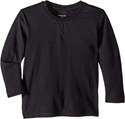 Extra Soft Slub Cotton Nate Long Sleeve Tee (Toddler/Little Kids/Big Kids)