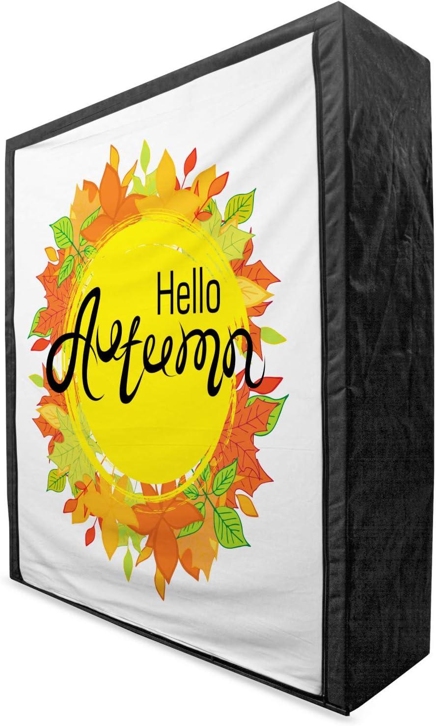 Ambesonne Hello Fall Portable Fabric Wardrobe Gre Autumn Season Popular product Tulsa Mall