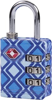 Travelon Travelon TSA Luggage Lock, Blue Geo (Blue) - 12790-32A