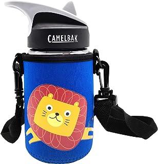 CHEETAH Water Bottle Carrier with Shoulder Strap for Camelbak Eddy Kids Water Bottle,Neoprene Water Bottle Sleeve Holder,C...